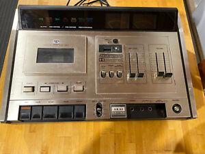 AKAI GXC-75D Stereo Cassette Tape Deck Top Loading Japan Made