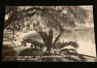 1940s Ponce De Leon Springs Fountain of Youth Florida RPPC Real photo
