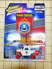 Johnny Lightning Toyota Land Cruiser Police PAM OBVIT Indonesian Excl. 1 of 2400