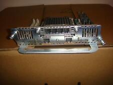 Cisco NM-HDV2-2T1/E1 with Two PVDM2-64 modules w/ VIC2-4FXO