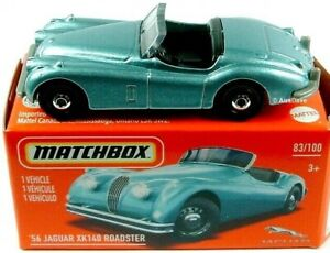 Matchbox 1956 Jaguar XK140 Roadster Mint in Box
