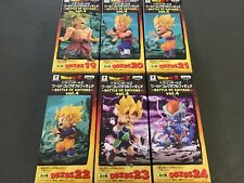 Dragon Ball Z World Collectable Figure WCF Doll BATTLE OF SAIYANS Vol.4 4 Set 6