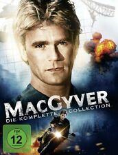 RICHARD DEAN/ELCAR,DANA ANDERSON - MACGYVER-DIE KOMPLETTE SERIE  38 DVD NEW
