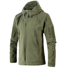 Men Hunting Outdoor Polar Fleece Military Army Tactical Hot Jacket WINTER COAT