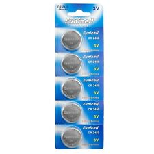 5 x Eunicell CR2450/DL2450 3v Lithium Button/Coin Cell Battery