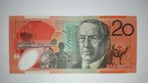2008 Stevens/Henry $20 Twenty Dollar Note UNC Last Prefix JC08 R421bL