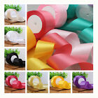 width 40mm 25 yards satin ribbon wedding craft sewing decorations many color