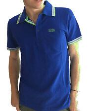 HUGO BOSS Polo Uomo - Manica Corta - Colore Blue