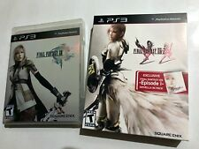 Final Fantasy XIII & XIII-2 Novella Edition PS3 Playstation 3 Complete
