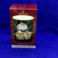 Hallmark Keepsake Ornament Fabulous Decade 1997 Hedgehog Handcrafted and Brass