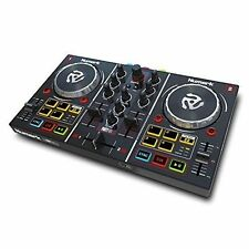 Numark Black mirror ball with 2 deck DJ controller Virtual DJ LE FREE ship