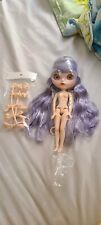 "Takara 12"" blythe neo nude Blue Purple Hair doll from factory"