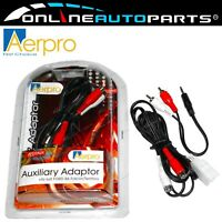 iPod, AUX, iPhone Adaptor Leads - Ford BA BF Falcon, Fairmont + SX SY Territory
