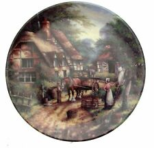 Wedgwood The Apple Pickers Country Days Chris Howells Collector Plate
