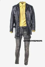 21 Bridges Taylor Kitsch Worn Costume Leather Jacket Prop Chadwick Boseman
