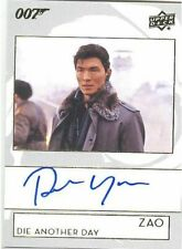 2019 James Bond Collection A-RY Rick Yune as Zao Die Another Day Autograph Card!