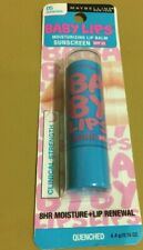 Maybelline New York Baby Lips Moisturizing Lip Balm Quenched Brand New