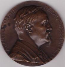 RARE MEDAILLE ,ALFRED CORNU de l'ACADEMIE des SCIENCES (1841-1902)