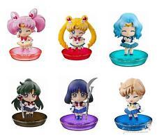 Sailor moon Anime Manga Mini Figuren 6er Set H:6cm Serie 2 Neu