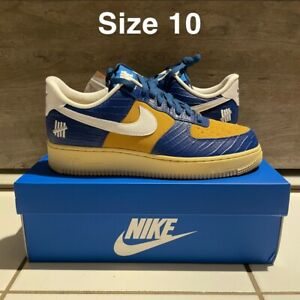 Nike x Undefeated Air Force 1 Low SP 5 On It DM8462-400 (Mens Size 10) DS OG ALL