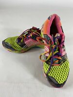 Asics Gel-Noosa Tri 8 Womens Athletic Running Shoes Size 7.5 Multi Color T356N
