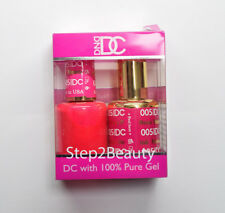 DND DC Soak Off Gel Polish + Matching Nail Lacquer ALL 144 Colors