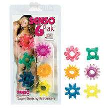 6-Pack Senso Super Stretchy Cock Rings