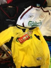 LIVERPOOl AWAY 2001/2 22/24 INCH BNWL AT £12   IN CHOICE OF THREE LONG SLEEVE