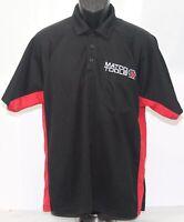 MATCO Tools ISL Red Black Polyester Mesh Polo Shirt Mens Large Employee Uniform
