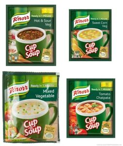 (Pack of-8) Knorr Instant Cup A Soup Veg - Select Pack Free ship