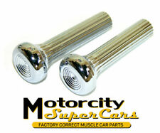 1968 69 70 All GM Models Chevelle GTO 442 GS SS Judge Chrome Door Lock Pull Pair
