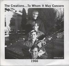 """THE CREATIONS 'To Whom it May Concern 7"""" Synthetic People North Carolina nuggets"""