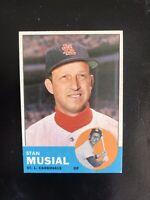 1963 TOPPS #250 STAN MUSIAL HOF STL CARDS— POPULAR ISSUE💥*** (wph)