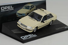 1982 - 1986 Opel Senator A2 Taxi beige  1:43 IXO Altaya Collection