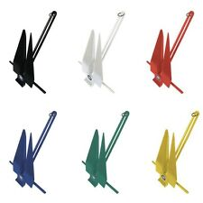 Greenfield Products 669-11-RD (17'-22' Boat) Fluke Anchor 11lb - Red