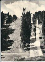 Ansichtskarte Johanngeorgenstadt - Erzgebirgsschanze - schwarz/weiß
