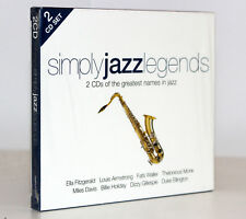 SIMPLY JAZZ LEGENDS [SLIP CASE] [2 CD OF THE GREATEST NAMES IN JAZZ] F. CATALOGO