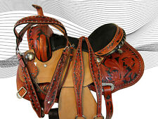 WESTERN SADDLE TRAIL SELLE PLEASURE PER CAVALLI SHOW BARREL SADDLE 15 16