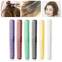 Salon Flattop Cutting Comb Carbon Anti-static Hairdressing Brush Styling Tools
