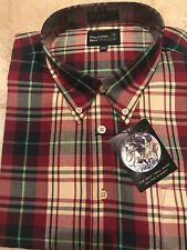 Falcon Bay Gold Label Mens LS Plaid Shirt 3XLT