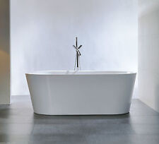 "Bathroom Acrylic Free Standing Bath Tub ""Thin Edge"" 1700x800x580"