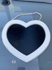 Heart chalk board