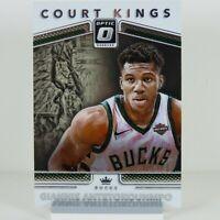 Giannis Antetokounmpo Panini Optic Court Kings Donruss 2017-2018 #3 NBA Card