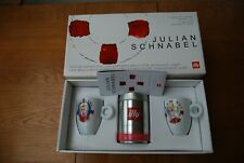 Illy Art Collection: Juilan Schnabel mugs x2 signed and numbered