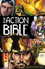 """""""The Action Bible"""" by Sergio Cariello (Brand New Hardcover Comic Book Bible)"""