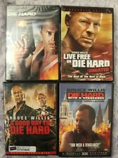 Lot Of 4 Dvd's: Die Hard ~ Bruce Willis~ Widescreen~ Action Classics