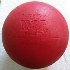 "8"" Vintage NERF Basketball Ball Parker Brothers"
