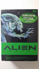 Alien Legacy Quadology Box-Set (Alien 1 to 4) - 20th Anniversary Edition R4 DVD