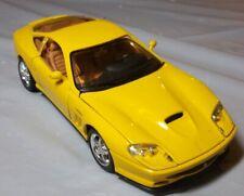 Maisto Ferrari 550 Maranello 1/24 Scale Car - Yellow