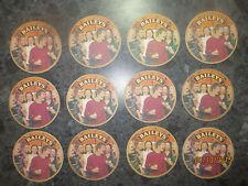 "12  BAILEY,S Irish Cream ""ICE"" / Spirits collectable COASTERS"